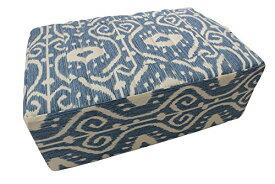 ヨガ フィットネス 【送料無料】Tibetan Seat Meditation Cushion (Bali Blue)ヨガ フィットネス
