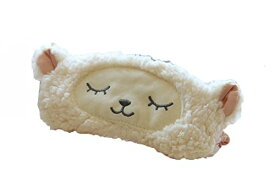 ヨガ フィットネス 【送料無料】Soft Plush Creative Cartoon Sleep Eye Mask Sleeping Eyes Cover Eyeshade (Lamb)ヨガ フィットネス