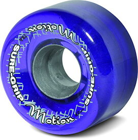 ウィール タイヤ スケボー スケートボード 海外モデル Sure-Grip Motion Outdoor Quad Roller Skating 65mm Clear Purpleウィール タイヤ スケボー スケートボード 海外モデル