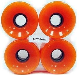 ウィール タイヤ スケボー スケートボード 海外モデル 【送料無料】Everland 65x51mm Wheels (Orange)ウィール タイヤ スケボー スケートボード 海外モデル