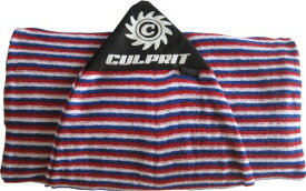 サーフィン ボードケース バックパック マリンスポーツ 【送料無料】Culprit Surf Protective Pocket 7ft Surfboard Sock - Red White Blue Striped - 7'サーフィン ボードケース バックパック マリンスポーツ