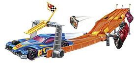 ホットウィール マテル ミニカー ホットウイール 【送料無料】Hot Wheels Retro 4-Lane Elimination Race Track Setホットウィール マテル ミニカー ホットウイール
