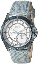 ゲス GUESS 腕時計 レディース C2002L4 GUESS Women's Stainless Steel Connect Fitness Tracker Denim Watch, Color: Blue (Model: C2002L4)ゲス GUESS 腕時計 レディース C2002L4