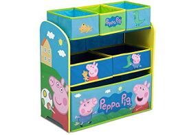 スポンジボブ カートゥーンネットワーク Spongebob キャラクター アメリカ限定多数 TB83412PG 【送料無料】Delta Children 6-Bin Toy Storage Organizer, Peppa Pigスポンジボブ カートゥーンネットワーク Spongebob キャラクター アメリカ限定多数 TB83412PG