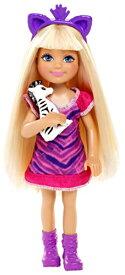 バービー バービー人形 チェルシー スキッパー ステイシー BDG33 【送料無料】Barbie Sisters Safari Chelsea Doll, Zebraバービー バービー人形 チェルシー スキッパー ステイシー BDG33