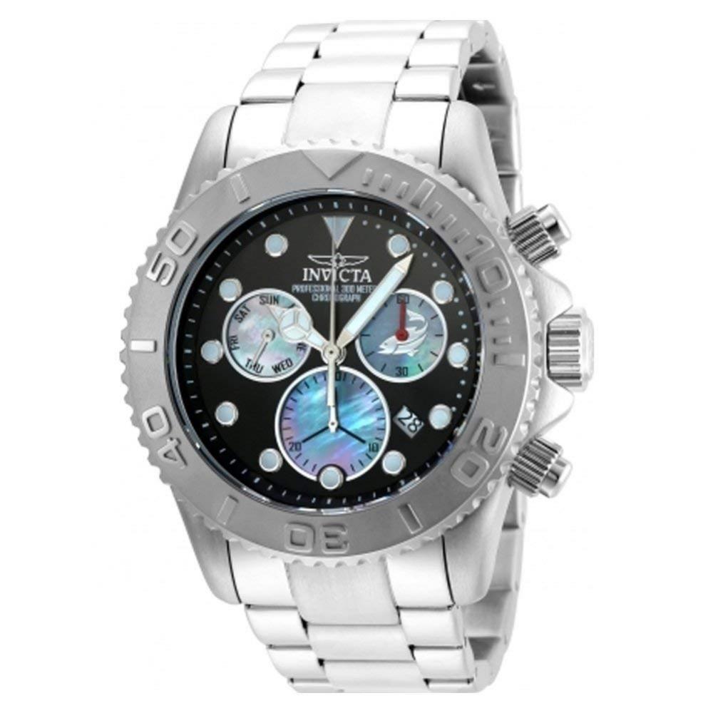 インヴィクタ インビクタ プロダイバー 腕時計 メンズ Invicta 20343 Mens Pro Diver Silver Steel Chronograph Watchインヴィクタ インビクタ プロダイバー 腕時計 メンズ