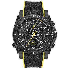 ブローバ 腕時計 メンズ Bulova Men's Stainless Steel Quartz Sport Watch with Rubber Strap, Black, 22.1 (Model: 98B312)ブローバ 腕時計 メンズ