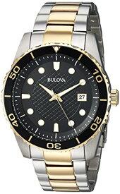 ブローバ 腕時計 メンズ Bulova Men's 98A199 Analog Display Quartz Two Tone Watchブローバ 腕時計 メンズ
