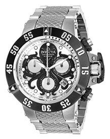 インヴィクタ インビクタ サブアクア 腕時計 メンズ Invicta Men's Subaqua Quartz Watch with Stainless Steel Strap, Silver, 28 (Model: 26131)インヴィクタ インビクタ サブアクア 腕時計 メンズ