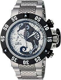 インヴィクタ インビクタ サブアクア 腕時計 メンズ Invicta Men's Subaqua Quartz Watch with Stainless-Steel Strap, Silver, 26 (Model: 26226)インヴィクタ インビクタ サブアクア 腕時計 メンズ