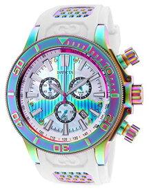 インヴィクタ インビクタ 腕時計 メンズ 【送料無料】Invicta Men's Corduba Stainless Steel Quartz Watch with Polyurethane Strap, White, 26 (Model: 25177)インヴィクタ インビクタ 腕時計 メンズ