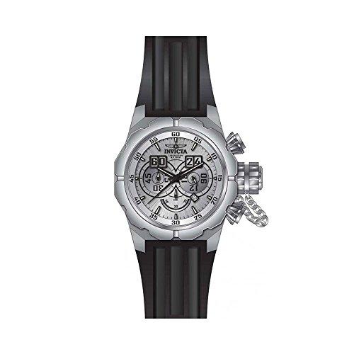 インヴィクタ インビクタ 腕時計 メンズ Invicta Men's Russian Diver Black Silicone Band Steel Case Quartz Silver-Tone Dial Analog Watch 21680インヴィクタ インビクタ 腕時計 メンズ