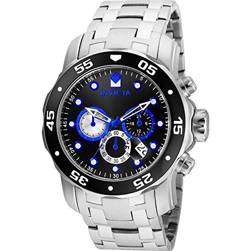 インヴィクタ インビクタ プロダイバー 腕時計 メンズ Invicta Men's 'Pro Diver' Quartz Stainless Steel Casual Watch, Color:Silver-Toned (Model: 24848)インヴィクタ インビクタ プロダイバー 腕時計 メンズ