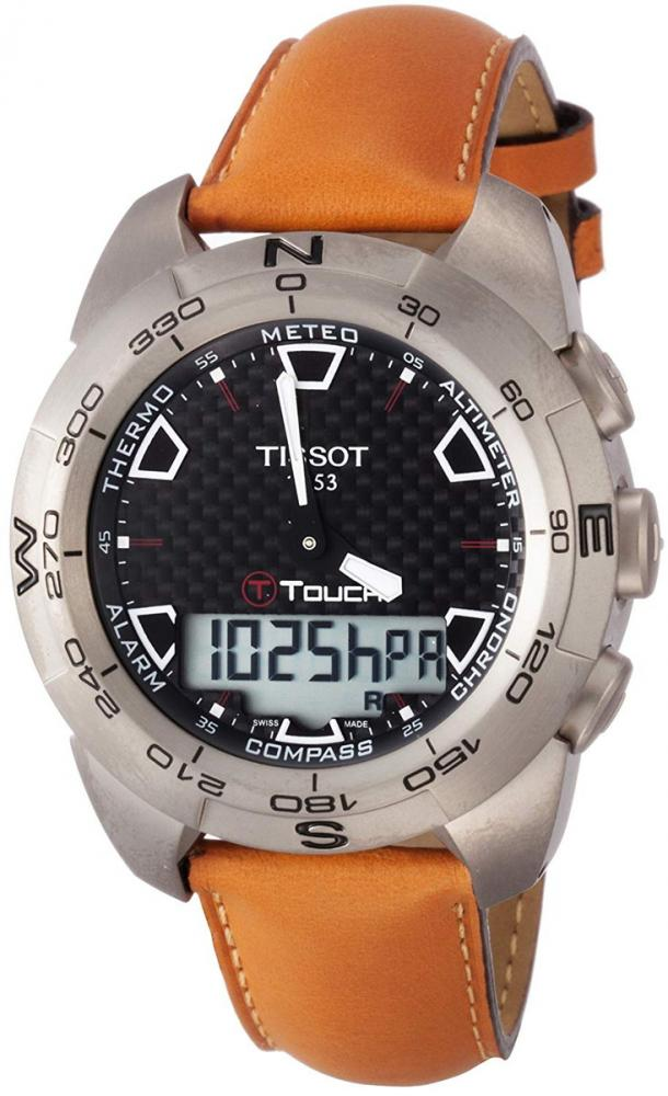 ティソ 腕時計 メンズ Tissot Men's T0134204620100 T-Touch Watchティソ 腕時計 メンズ