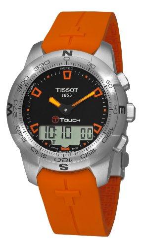 ティソ 腕時計 メンズ Tissot Men's T0474201705101 T-Touch Multi-Function Watchティソ 腕時計 メンズ