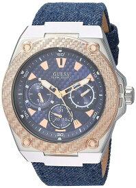 ゲス GUESS 腕時計 メンズ GUESS Men's U1058G1 Analog Display Japanese Quartz Blue Watchゲス GUESS 腕時計 メンズ