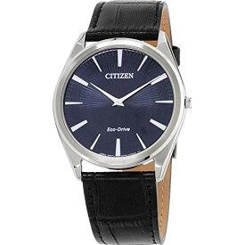 シチズン 逆輸入 海外モデル 海外限定 アメリカ直輸入 Men's Citizen Eco-Drive Stiletto Blue Dial Strap Watch AR3070-04Lシチズン 逆輸入 海外モデル 海外限定 アメリカ直輸入