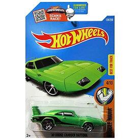 ホットウィール マテル ミニカー ホットウイール 【送料無料】Hot Wheels 2016 Muscle Mania 1969 Dodge Charger Daytona Greenホットウィール マテル ミニカー ホットウイール