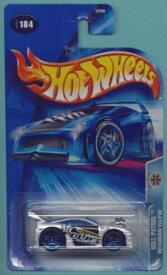 ホットウィール マテル ミニカー ホットウイール 【送料無料】Hot Wheels 2004 1:64 Scale Silver & Black Roll Patrol Mitsubishi Eclipse Police Die Cast Car #184ホットウィール マテル ミニカー ホットウイール