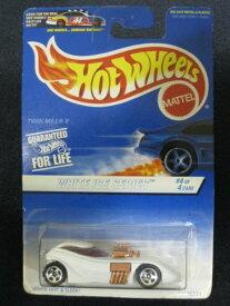 ホットウィール マテル ミニカー ホットウイール 【送料無料】Hotwheels White Ice Series #4 Twin Mill IIホットウィール マテル ミニカー ホットウイール