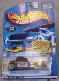 ホットウィール マテル ミニカー ホットウイール 【送料無料】Hot Wheels 2001 '32 Ford Police BLACK State Trooper #216ホットウィール マテル ミニカー ホットウイール