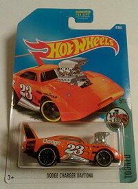ホットウィール マテル ミニカー ホットウイール 【送料無料】Hot Wheels 2017 Tooned Dodge Charger Daytona 6/365, Orangeホットウィール マテル ミニカー ホットウイール