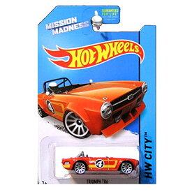 ホットウィール マテル ミニカー ホットウイール Hot wheels Mission Madness Triumph TR6 RARE special scavenger hunt edition vehicle 4/4 hw city 2014ホットウィール マテル ミニカー ホットウイール