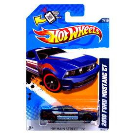 """ホットウィール マテル ミニカー ホットウイール 【送料無料】Hot Wheels 2012 167/247 2010 FORD MUSTANG GT blue police car """"Kootenai County""""ホットウィール マテル ミニカー ホットウイール"""