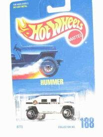 ホットウィール マテル ミニカー ホットウイール 【送料無料】#188 Hummer White Police Tampos Unpainted Base Collectible Collector Car Mattel Hot Wheels 1:64 Scaleホットウィール マテル ミニカー ホットウイール
