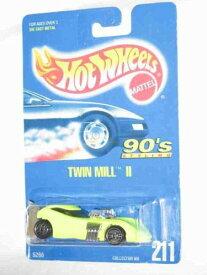 ホットウィール マテル ミニカー ホットウイール 【送料無料】Hot Wheels #211 Twin Mill 2 Ultra Chrome Base Collectible Collector Car Matelホットウィール マテル ミニカー ホットウイール