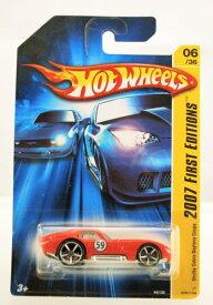 ホットウィール マテル ミニカー ホットウイール 【送料無料】Hot Wheels - 2007 First Editions - Shelby Cobra Daytona Coupe - Bright Red - 06/36 - Limited Edition - Collectibleホットウィール マテル ミニカー ホットウイール