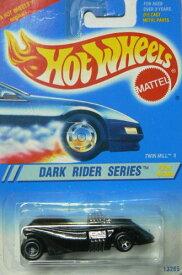 ホットウィール マテル ミニカー ホットウイール 【送料無料】Hot Wheels Dark Rider Series #2 of 4 Cars Twin Mill IIホットウィール マテル ミニカー ホットウイール