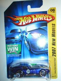ホットウィール マテル ミニカー ホットウイール 【送料無料】2007 New Models #6 Shelby Cobra Daytona Coupe Blue #2007-06 Collectible Collector Car Mattel Hot Wheelsホットウィール マテル ミニカー ホットウイール