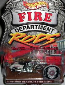 ホットウィール マテル ミニカー ホットウイール 【送料無料】Hot Wheels Scorchin Scooter Fire Department Daytona Beach Floridaホットウィール マテル ミニカー ホットウイール