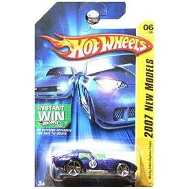 ホットウィール マテル ミニカー ホットウイール 【送料無料】Hot Wheels 2007 New Models Shelby Cobra Daytona Coupe Blue with White Stripe Instant Win Cardホットウィール マテル ミニカー ホットウイール