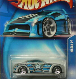 ホットウィール マテル ミニカー ホットウイール 【送料無料】Hot Wheels 2003 Nissan Z GRAY 220 Police Mainline 1:64 Scaleホットウィール マテル ミニカー ホットウイール