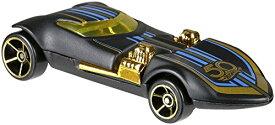 ホットウィール マテル ミニカー ホットウイール 【送料無料】Hot Wheels 50th Anniversary Black & Gold Series Special Edition Collectible Die Cast Cars (Twin Mill 2/6)ホットウィール マテル ミニカー ホットウイール