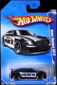 ホットウィール マテル ミニカー ホットウイール 【送料無料】Hot Wheels 2010 City Works 02/10 Black Dodge Charger SRT8 City Police CARホットウィール マテル ミニカー ホットウイール