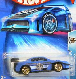 ホットウィール マテル ミニカー ホットウイール 【送料無料】Hot Wheels 2004 1:64 Scale Roll Patrol Black & Blue Pikes Peak Toyota Celica Die Cast Police Car #174ホットウィール マテル ミニカー ホットウイール