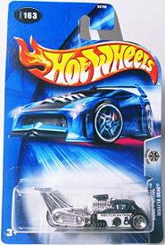 ホットウィール マテル ミニカー ホットウイール 【送料無料】Mattel Hot Wheels 2004 1:64 Scale Black & White Roll Patrol Whatta Drag Police Die Cast Car #163ホットウィール マテル ミニカー ホットウイール