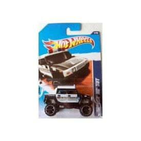 ホットウィール マテル ミニカー ホットウイール 【送料無料】Hot Wheels 2011, Hummer H2 SUT Police Car 161/244. HW Main Street. 1:64 Scale.ホットウィール マテル ミニカー ホットウイール