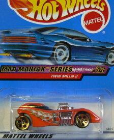ホットウィール マテル ミニカー ホットウイール 【送料無料】Hot Wheels Mad Maniax Series #4 Twin Mill 2 #2000-20 Collectible Collector Car Mattel 1:64 Scaleホットウィール マテル ミニカー ホットウイール