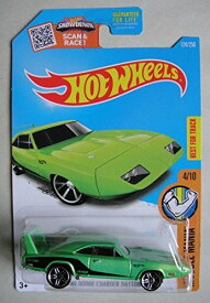 ホットウィール マテル ミニカー ホットウイール 【送料無料】Hot Wheels 2016 Muscle Mania '69 Dodge Charger Daytona 124/250, Greenホットウィール マテル ミニカー ホットウイール