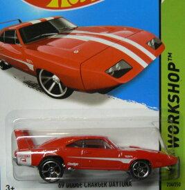ホットウィール マテル ミニカー ホットウイール 【送料無料】Hot Wheels HW Workshop 234/250 Red '69 Dodge Charger Daytonaホットウィール マテル ミニカー ホットウイール