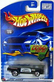 ホットウィール マテル ミニカー ホットウイール 【送料無料】Hot Wheels #2002-179 Mustang Mach 1 Police Tampos Collectibles Collector Car Mattel 1:64 Scaleホットウィール マテル ミニカー ホットウイール
