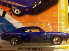ホットウィール マテル ミニカー ホットウイール 【送料無料】Hot Wheels 2011 '' '70 Pontiac GTO Judge HW Premiere '11 -11 of 50 - 11/244 Deep Blue with 'The Judge' Decal on Front quarterpanel. Has Spoiホットウィール マテル ミニカー ホットウイール