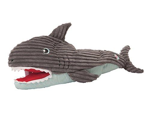 犬おもちゃ イヌ ねこ 病みつき ココ掘れわんわん 10511 HuggleHounds Plush Durable Squeaky Craig The Interactive Shark Puppet Toy犬おもちゃ イヌ ねこ 病みつき ココ掘れわんわん 10511