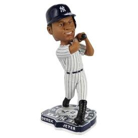 ボブルヘッド バブルヘッド 首振り人形 ボビンヘッド BOBBLEHEAD MLB New York Yankees Derek Jeter 3,000th Hit Bobbleheadボブルヘッド バブルヘッド 首振り人形 ボビンヘッド BOBBLEHEAD