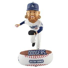 ボブルヘッド バブルヘッド 首振り人形 ボビンヘッド BOBBLEHEAD 【送料無料】FOCO MLB Los Angeles Dodgers Turner #10 Baller Bobble, Team Color, One Sizeボブルヘッド バブルヘッド 首振り人形 ボビンヘッド BOBBLEHEAD