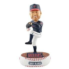 ボブルヘッド バブルヘッド 首振り人形 ボビンヘッド BOBBLEHEAD FOCO MLB Cleveland Indians Kluber C. #28 Baller Bobble, Team Color, One Sizeボブルヘッド バブルヘッド 首振り人形 ボビンヘッド BOBBLEHEAD